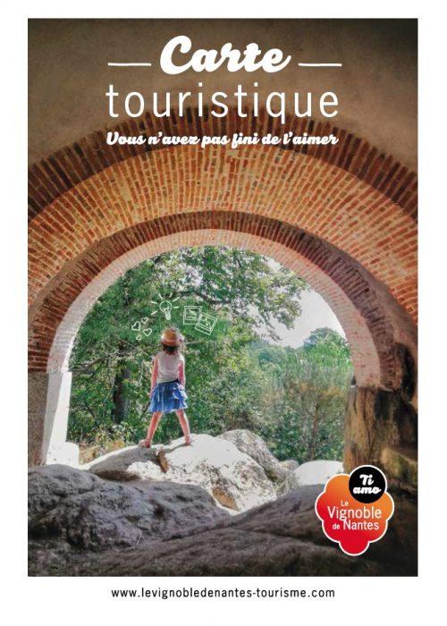 Carte touristique 2020 du Vignoble de Nantes