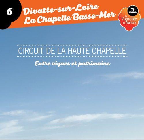 Fiche circuit  la haute chapelle à Divatte sur Loire