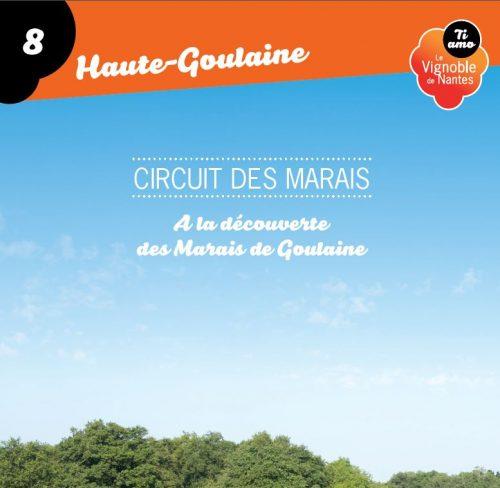 Fiche circuit des marais à Haute Goulaine