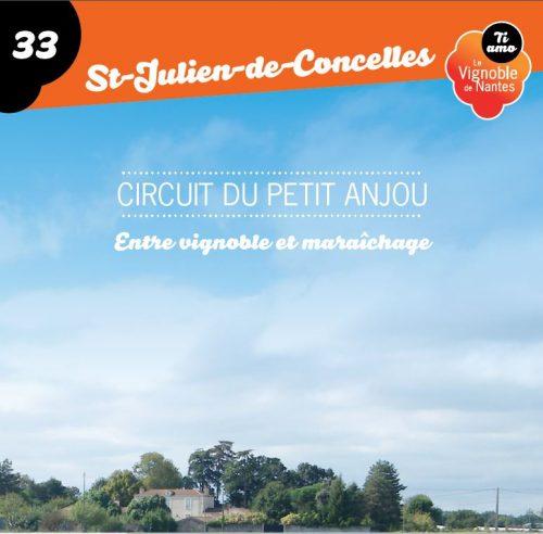 Fiche circuit  le petit Anjou à St-Julien de Concelles
