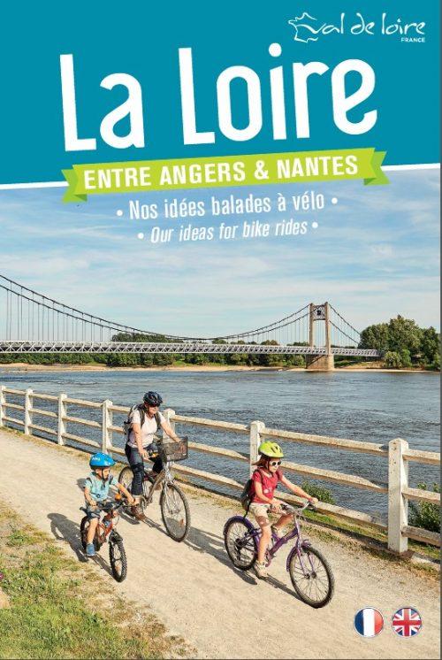 Carte touristique La Loire entre Angers et Nantes
