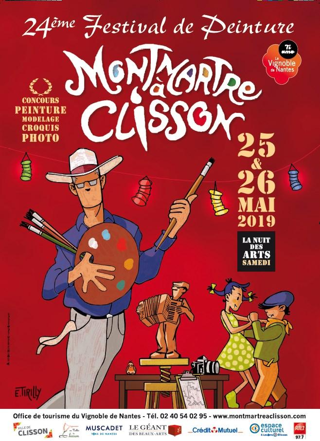 Festival Montmartre a Clisson 2019 le vignoble de Nantes