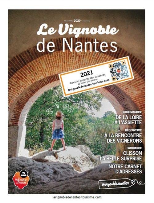 Guide touristique 2021 Le Vignoble de Nantes