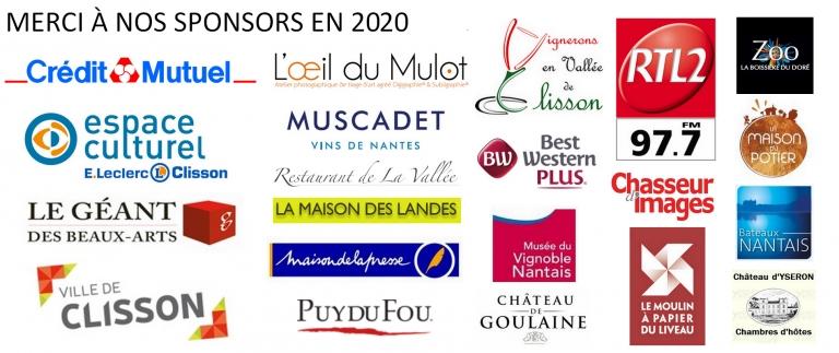 bandeau sponsors montmartre à clisson 2020