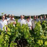 Le groupe des vignerons du Pallet