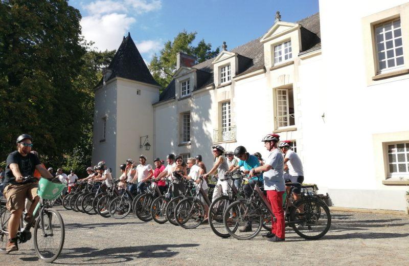 Balade à vélo journée groupes envie de nature le vignoble de nantes