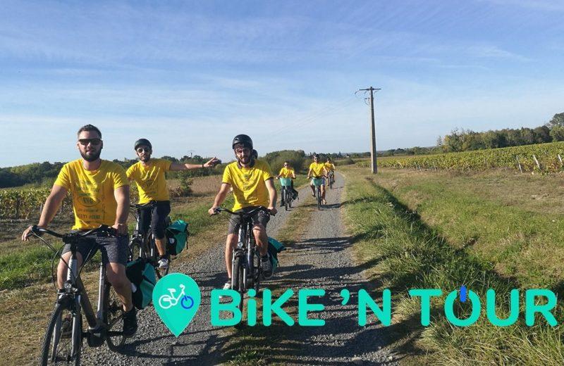 Balade à vélo jjournée groupes envie de nature le vignoble de nantes