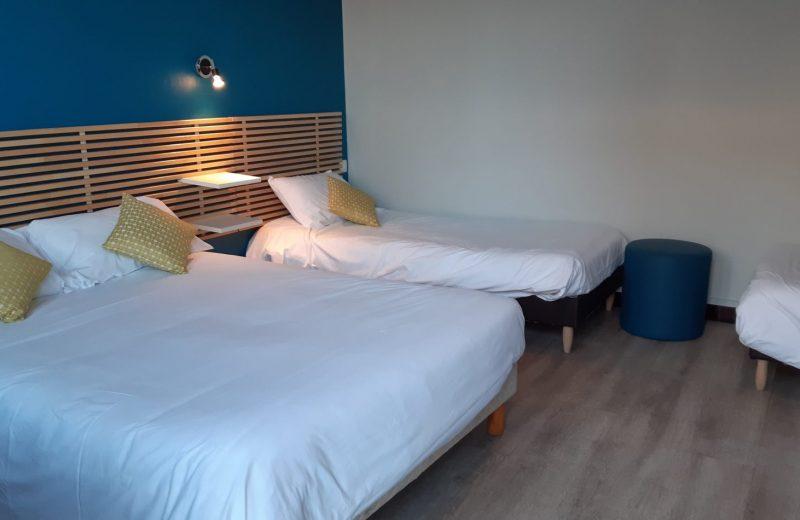 hotel-clair-de-lie-Chambre familiale-vallet-44