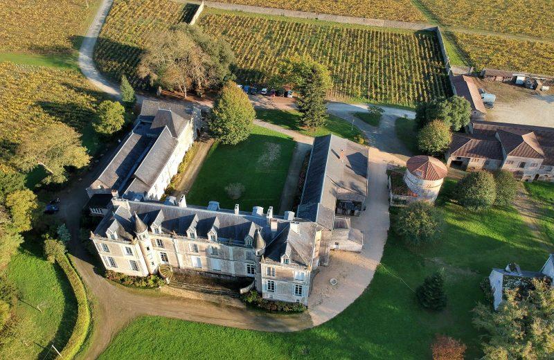 chateau-du-coing-Le château du coin vue drone-st-fiacre-44