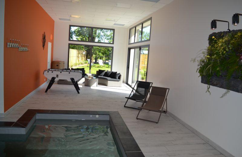 Espace détente / piscine