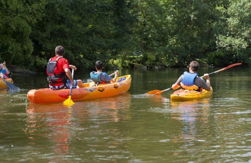 La Sevre nantaise en canoe