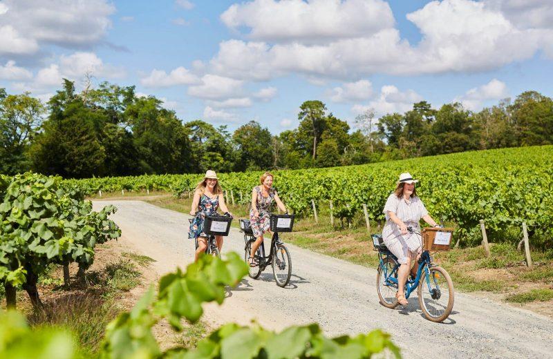 chateau-du-coing-Arrivée en vélo au domaine-st-fiacre-44