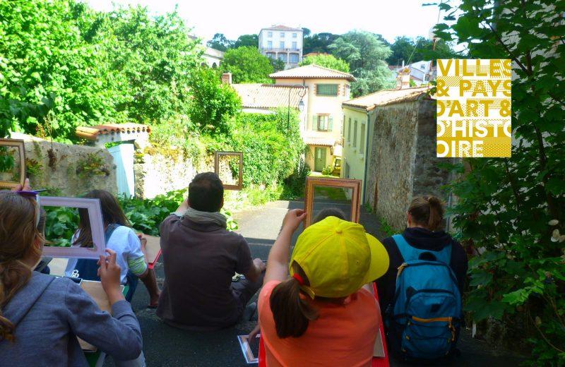 juniors  patrimoine local le paysage a l italienne de clisson